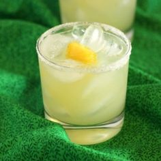 Earls Pineapple Ginger Margarita - The perfect pairing of pineapple and ginger with the addition of a little heat!!