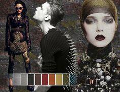 Autumn/Winter 2014/2015 Textile Color Trends - by Indigo