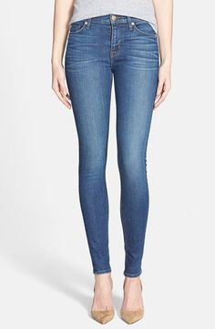 Hudson+Jeans+'Nico'+Super+Skinny+Jeans+(Hollywoodland)+available+at+#Nordstrom