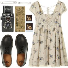 A fashion look from October 2013 featuring Dr. Martens shoes and Kristin Cavallari earrings. Browse and shop related looks.