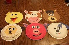 DIY Farm Crafts and Activities with Farm Coloring Pages - Diy Food Garden & Craft Ideas Farm Animals Preschool, Farm Animal Crafts, Animal Crafts For Kids, Farm Theme Crafts, Farm Animal Songs, Preschool Farm Theme, Daycare Crafts, Preschool Crafts, Kids Crafts