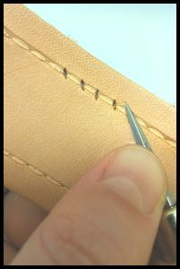 How To Hand Sew Leather. Get leather to get started from TheLeatherGuy.org