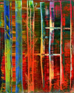 Gerhard Richter, Abstract image, 1992; Museum Frieder Burda, Baden-Baden © Gerhard Richter, 2015; Photo: Volker Naumann, Schönaich Photos - Museum Frieder Burda
