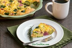 Are you following a low carb way of eating, but also try to follow a Paleo lifestyle? Try this yummy Paleo crustless zucchini radish quiche.