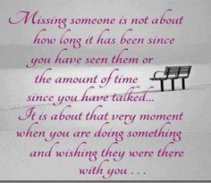I Miss YOU!!!!!! Yes...I do this all of the time!!  I went to a couple of our…