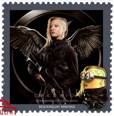 The Hunger Games Mockingjay Minions ~ Cressida
