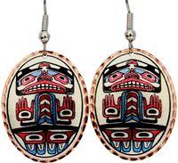 Alaska Native Theme Earrings