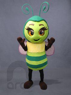"""Botargas de Animales: INSECTOS Abejita tierna """"Mochis"""" ¡Conoce más modelos de botargas de animales e insectos aquí!: http://www.grupoarco.com.mx/venta-de-botargas/botargas-de-animales-en-mexico/"""