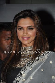 Deepika black and white closeup