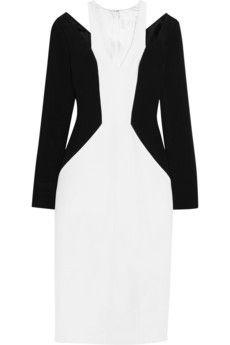 Cushnie et Ochs Cutout jersey-crepe dress | NET-A-PORTER
