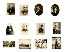 Making Dolls House Miniatures: FREE MINI- PRINTABLES - Small, Sepia Photographs by S. Whittick