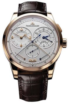 Jaeger-LeCoultre Duometre and Chronograph