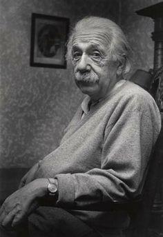 Albert Einstein. Princeton, New Jersey. 1953. by Esther Bubley