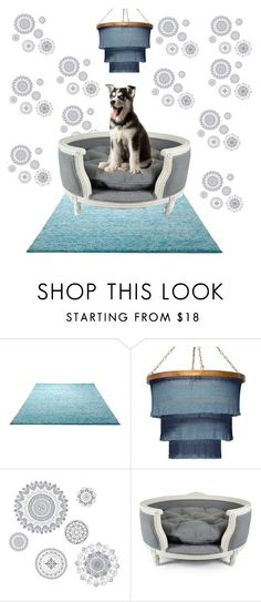 """""""pamperd dog"""" by isabellamanor2005 ❤ liked on Polyvore featuring interior, interiors, interior design, home, home decor, interior decorating, ESPRIT, WallPops and Lord Lou"""