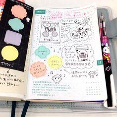 Hobonichi techo with Midori note pads