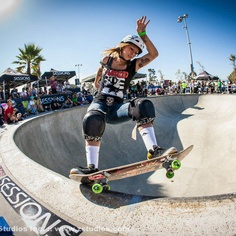 San Jose CA Skateboarding girl