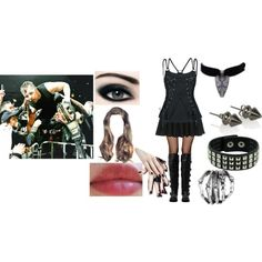 """""""My dream WWE outfit,"""" if I were to get in the ring with Dean as his it girl! Wwe 2, Wwe Outfits, Cute Boots, Other Outfits, Wwe Divas, Polyvore Outfits, Hair And Nails, Emo, What To Wear"""