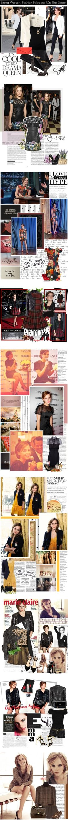 """""""Happy Birthday, Emma Watson!"""" by polyvore-editorial ❤ liked on Polyvore"""