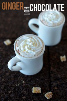 Warm up with this sumptuous Ginger Hot Chocolate.