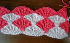 "Crochet pattern ""colored seashells"""
