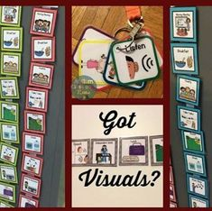 13 Things Every Special Education Teacher Needs in their Classroom - Visuals are so important!