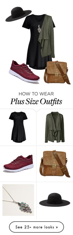 """My First Polyvore Outfit"" by gypsi-head on Polyvore featuring Lands' End, Cost Plus World Market and Dream Seek"