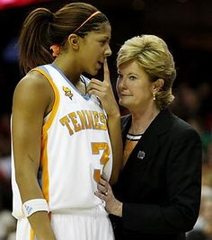 Candace Parker Photos: Candace Parker and Pat Summitt