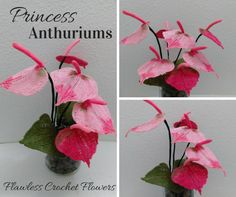 Valentine's Day is approaching really fast! These Princess Anthuriums are perfect for the Holiday! I'm delighted to introduce these unique crochet blooms to you. This fun-loving flower will always bring out a smile with its vibrant colors. Get...