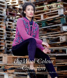 The Big Wool Colour Collection (ZB160) 13 designs by Lisa Richardson, using Big Wool & NEW YARN! Big Wool Colour - English Yarns