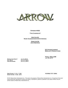 Arrow - 4x02 The Candidate
