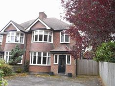 3 bedroom semi-detached house for sale in Oxford Road, Banbury - Rightmove. Brick Porch, House Front Porch, Front Porch Design, House Entrance, Front Porches, Entrance Doors, Front Doors, 1930s House Exterior, White Exterior Houses