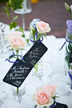 Table markers/ settings