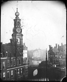 Muntplein, Amsterdam 1863. Foto: Jacob Olie
