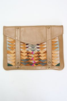 Lizzie Fortunato Ipad Bag or day clutch. Ipad Bag, Textiles, Indian Paintbrush, Beautiful Bags, Clutch Purse, Purses And Bags, What To Wear, Fashion Accessories, At Least
