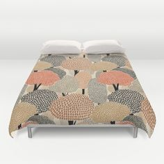 threes duvet cover