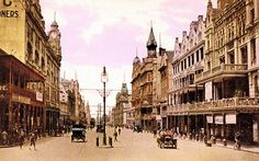 Adderley Street, Cape Town in the early 1900s | HiltonT | Flickr