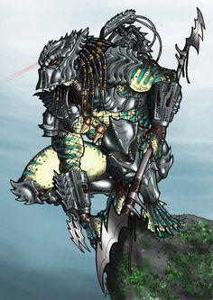 Predator Hunt Masked by Ronniesolano on DeviantArt