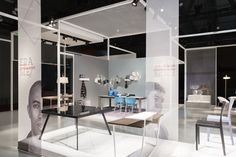 Calligaris stand at Salone Del Mobile 2014 by Nascent Design, Milan » Retail Design Blog