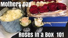 So Mothers Day, there's no need to spend a fortune to give your mother an expensive gift. Roses in a Box the perfect sophisticated gift. Expensive Gifts, Flower Arrangements, Beautiful Homes, Make It Yourself, This Or That Questions, Menopause, Create, Day, Amazing