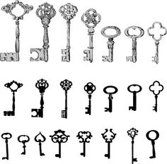 key tattoo | cute-tattoo