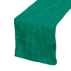 Your Chair Covers Inc. - 14 x 108 inch Crinkle Taffeta Table Runners Teal, $3.03 (http://www.yourchaircovers.com/14-x-108-inch-crinkle-taffeta-table-runners-teal/)