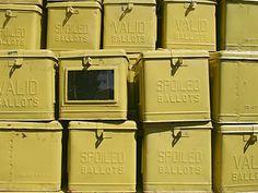 Ballot boxes #kasaysayan
