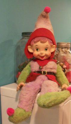 , Vintage Christmas Photos, Antique Christmas, Retro Christmas, Christmas Ideas, Christmas Crafts, Christmas Elf Doll, Ghost Of Christmas Past, Vintage Stuff, Retro Vintage