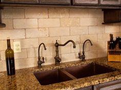 Best and Popular Rustic Style Tile Backsplash   Kitchen Design Ideas