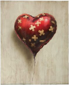 "Banksy's ""Heart Balloon"" Sells to Coldplay's Chris Martin for $650K 