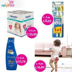 İndirimli ürünlerimizden sizin için seçtik! ♥ Resme tıklayın :) #İndirim #discount #sleep #baby   #BabyCorner #OralB #bebedor #Nivea #kampanya #mother #neiyifikir