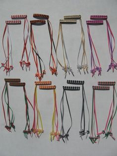 80s braided ribbon barrettes. I had a rainbow shaped one. I hated when the tri-beads would clap together as you walked