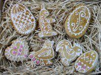 Velikonoční perníčky na poslední chvíli Place Cards, Place Card Holders, Cookies, Crack Crackers, Biscuits, Cookie Recipes, Cookie, Biscuit