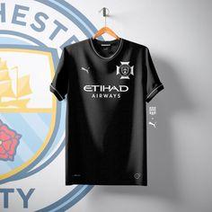 Sports Jersey Design, Football Design, Soccer Kits, Football Kits, Club Shirts, Polo T Shirts, Manchester United City, Manchester City Wallpaper, Uniform Design