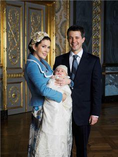 Kronprinsparret med Prins Christian.